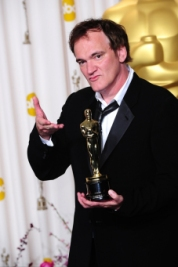 Quentin Tarantino voor Django Unchained