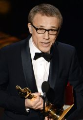 Christoph Waltz voor Best actor in supporting role (Django Unchained)